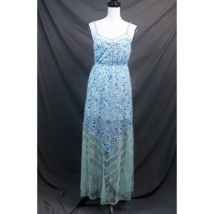 Candies Floral Lace Maxi Dress NWT Size S